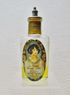 Vintage mens hair tonic