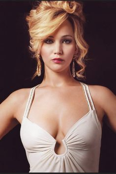 Jennifer Lawrence. At first glance this pic looks a lot like Heather Locklear (younger years)