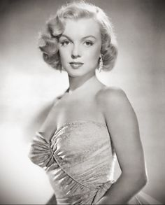 Marilyn Monroe, around 1950.