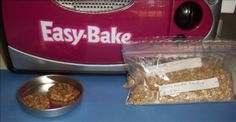 Easy Bake Oven Oatmeal Cookie Mix from Food.com:   Recipes for use in the Easy Bake Oven.