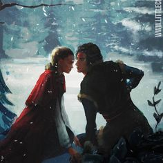 If Reylo were Frozen characters would they be Anna and Kristoff? I donut think so, but clothes are cute 😌 The winner of January Drawing Content Poll - Frozen version of Reylo for the full animated. Frozen Characters, Fictional Characters, Real Fire, Hades And Persephone, You Make Me Laugh, Best Husband, Reylo, Star Wars Episodes, Star Wars Art