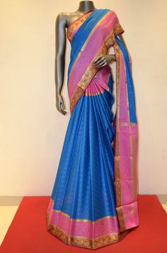 Pure Mysore Crepe Silk Saree Product Code: AA216123 Online Shopping; http://www.janardhanasilk.com/index.php?route=product/product&search=AA216123&description=true&product_id=4261