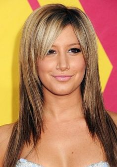 next possible cut #2: long layers again with side bangs, been a long time since I've had bangs.