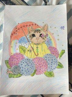 Pastel kittie