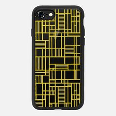 Map Outline Yellow Transparent -  #casetifyiphone7 #iphone7 #geometric #abstract #phonecase