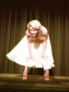ourmarilynmonroe:  Marilyn Monroe on the set of The Seven Year Itch, released 1955.
