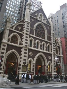 The Church of The Holy Innocents, New York, NY; newly renovated; unfortunately, slated to close down by Bishop Dolan. [HI_Front]