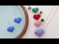 Mini Peyote Kalp Cevşen Yapımı - ANLATIMLI - Peyote Heart Making - YouTube Beaded Bracelets Tutorial, Beaded Bracelet Patterns, Earring Tutorial, Beaded Earrings, Quilling Earrings, Paracord Bracelets, Crochet Earrings, Beaded Flowers Patterns, Seed Bead Jewelry