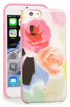 Help Mom protect her phone with this watercolor floral phone case from Kate Spade.
