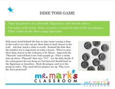 Dime Toss Game :: Mr. Mark's Classroom