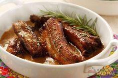 Receita de Costelinha de porco ao molho de café e laranja em receitas de carnes, veja essa e outras receitas aqui!