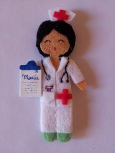 Broches Personalizados. Profesiones. / Cosetes de Marta - Artesanio