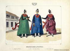 COLEGIALES de MANILA. Lozano, José Honorato 1821- — Dibujo — 1847