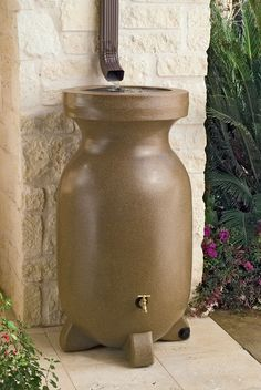 75-Gallon Rain Barrel -- this is on my wish list for the garden/yard.