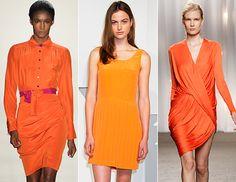 spring color trend: tangerine