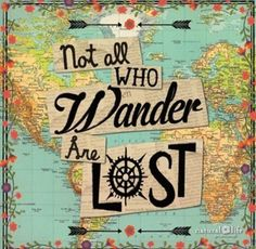 beautiful words to live by | travel quotes | wanderlust | typewriter font | not all who wander are lost