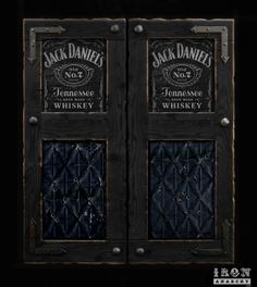 Jack Danielu0027s Whiskey saloon door concept by IronAnarchy.com using aged signage Victorian ceiling tin and wrought iron accents. & Jack Danielu0027s Whiskey saloon door concept by IronAnarchy.com using ...