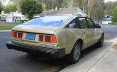 1980 Rover 3500 For Sale Rear