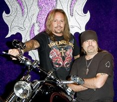 Counting Cars Danny Koker Wife | Vince Neil and Danny Koker of Counts Kustoms