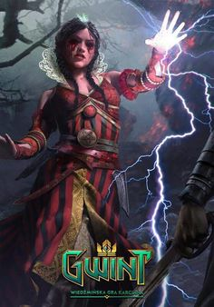 Fiilippa Eilhart new card! ❤ #gwent #witcher #Eilhart #Philippa