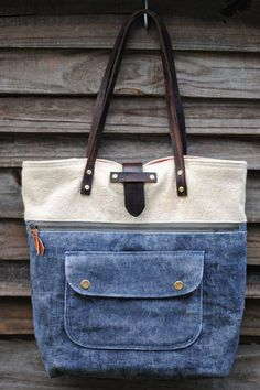 Caravan Tote :: Dandelion Drift Great version