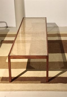 Carl Hauner 1960's vintage coffee table. Available at Espasso.