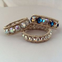 Tutorials | JewelryLessons.com  love this look.  time to take a trip to the jewelry supply store!