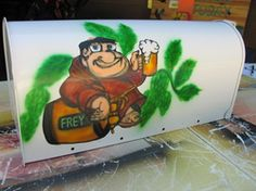 one example of airbrushed mailbox, I'll add a pet one as well - they are $75 and include shipping within United States