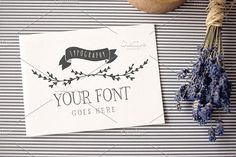 • Typography • Logo • Invitation • - Product Mockups It's fast and easy to use the mockups thanks to smart objects - just double click on a proper layer (PROJECT HOLDER) and paste your image in a replaceable smart object screen