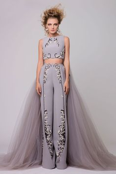 Azzi and Osta Beaded Formal Two Piece Set