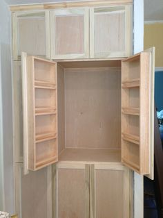 Pantry cabinet do it yourself home projects from ana white am i flip flopping on interior design decisions building kitchen cabinetskitchen pantry solutioingenieria Gallery