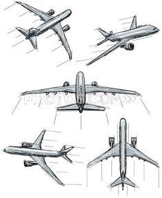 136946117-jet-airplane-sketches-photos-com.jpg (375×458)