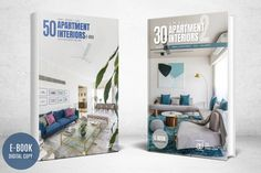 2 APARTMENT INTERIORS E.BOOK COMBO – Brownbazaar Small Apartment Interior, Apartment Design, All Covers, Small Apartments, Home Buying, Innovation, Cool Designs, Finding Yourself, New Homes