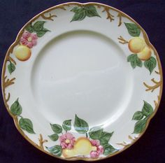 JOHNSON BROTHERS BROS CHINA PEACH BLOOM DINNER PLATE