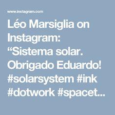 "Léo Marsiglia on Instagram: ""Sistema solar. Obrigado Eduardo! #solarsystem #ink  #dotwork  #spacetattoo #tattoo  #solarsystemtattoo #blackworkers  #blacktattoo"""