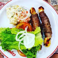 Maminha com queijo coalho maionese e salada. Nada mal  #paleo #atkins #keto #primal #lchf #lowcarb #slowcarb #vidasaudavel #barrigadetrigo #semgluten #glutenfree #semlactose #lactosefree #receitaslowcarb #comidadeverdade #instafood #eatrealfood #senhortanquinho #controleseucorpo #diet #dieta #saude #health #fit #fitness