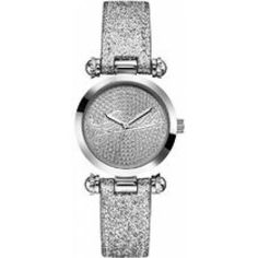 Ceas Guess W0057L1 Crystal Logo, Personal Stylist, Michael Kors Watch, Jewelry Accessories, Bling, Glitter, Watches, Crystals, Silver