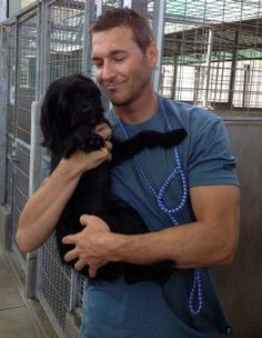 Lucky Dog TV show saves shelter dogs: Animal trainer Brandon Mcmillan will train 22 shelter dogs and find them ALL homes #loveforallanimals #hero #BrandonMcmillan