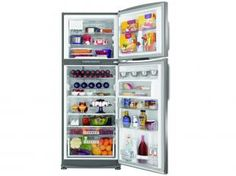 Geladeira/Refrigerador Brastemp Frost Free Duplex - 432L Inox Gourmand BRX50CR Painel Eletrônico