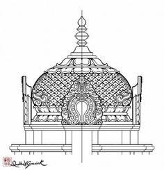 Collection of Temple Drawing Sketch Indian Temple Architecture, Ancient Architecture, Temple Drawing, Temple Design, Tanjore Painting, Indian Folk Art, Beautiful Rangoli Designs, Hindu Art, Traditional Paintings