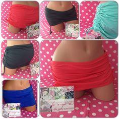 NEW Victoria's Secret Swim Skirt Skirted Bikini Bottoms Side String Ruched Tie #VictoriasSecret #SwimSkirt