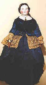 A BRIEF HISTORY OF ANTIQUE Dolls:   The first first type of antique doll that is widely-known among non-doll collectors is the, the china doll, and her close cousin, the rarer parian. The china doll had her heyday between 1840 and 1880, before bisque dolls became preferred by children, although china dolls were still mass-produced as late as the 1920s. China dolls have heads of glazed porcelain, and parians have heads of unglazed porcelain, and the majority were produced in Germany from 1850...