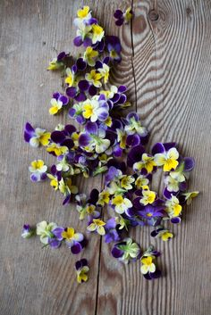 From the Kinfolk flower potluck.