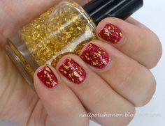 Pahlish Pianos Filled With Flames with gold leaf top coat