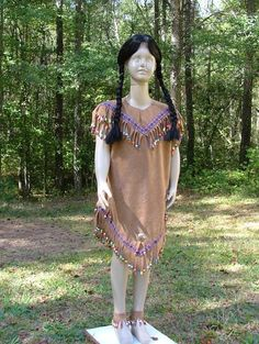 Cute American Indian Girl Beaded Halloween Costume Girls Sizes Made To Order