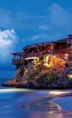 Eden Rock Hotel in St. Barts = Dream Honeymoon location #FairfieldGrantsWishes