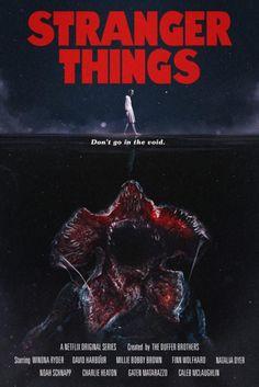 Cartaz de divulgação da segunda temporada de Stranger Things