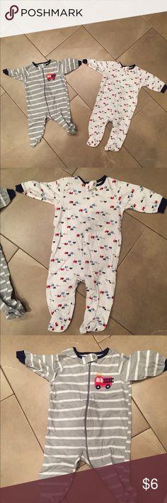 Baby Boy Pajama Bundle Good used condition. Bundle and save more! Gerber Pajamas