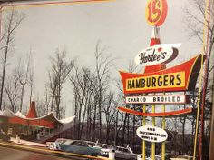 Hardee's. Old School.