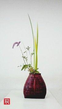 生け花「里山」